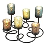 Anchor Home Collection 7 Piece Candle Holder Set