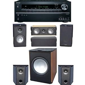 Premier Acoustic PA 6B 51 Bookshelf Speaker System Onkyo TX NR626 72 Ch