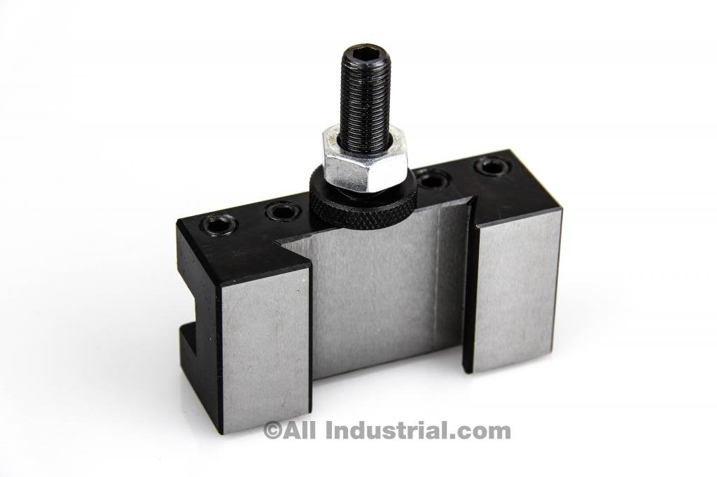 AXA #1 QUICK CHANGE TURNING & FACING CNC LATHE TOOL POST HOLDER (250-101) by All Industrial