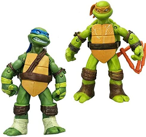 4pcs Battle Shell Teenage Mutant Ninja Turtles Figures Toys set Birthday Gifts