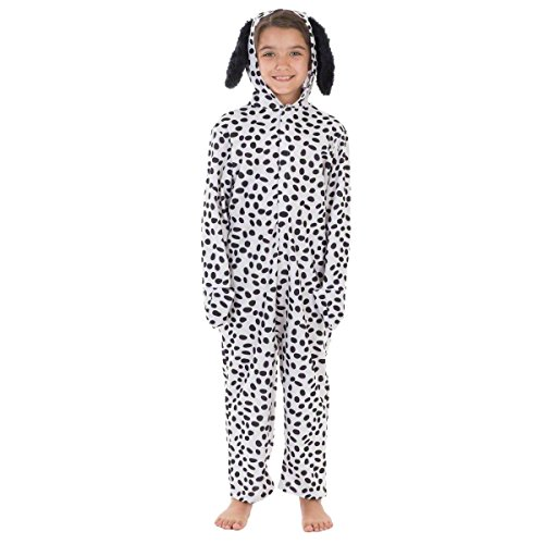 Dalmation Children Halloween Costumes (Dalmatian Lite Costume for Kids 10-12 Yrs)