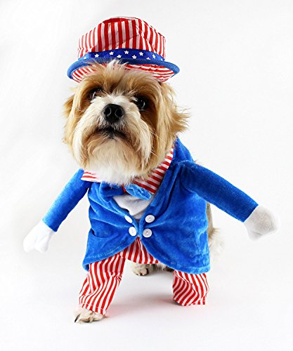 4th Of July Pet Costumes - Midlee Uncle Sam 4th of July