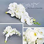 Baisheng-Elegant-Cascade-Bridal-Bouquet-ivory-artificial-Calla-Lily-and-orchids