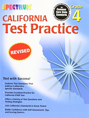 Spectrum State Specific: California Test Practice, Grade - The Spectrum California