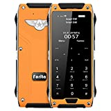 "JaneDream R2 Ultrathin Mini MTK6261D 1.63"" Touch Screen Dual Sim Card Mobile Phone Cellphone Orange"