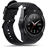 V8 Smart Watch Sports Fitness Tracker Bluetooth smartwatch Wrist Watch with SIM Card and TF Card