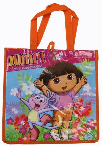 14 X 14 Inch Dora the Explorer - Jump! Tote Bag