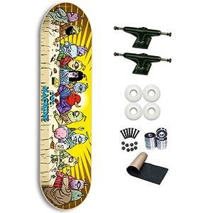 Toy Machine Last Supper 8.25 Skateboard Deck Complete from Toy Machine