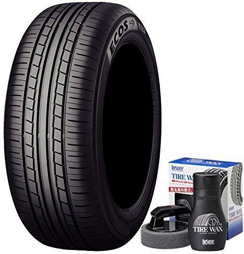 【4本セット】 低燃費タイヤ ヨコハマ(YOKOHAMA) サマータイヤ ECOS ES31 175/60R15 81H タイヤワックス SurLuster S-67 付き B07B9T6RVD