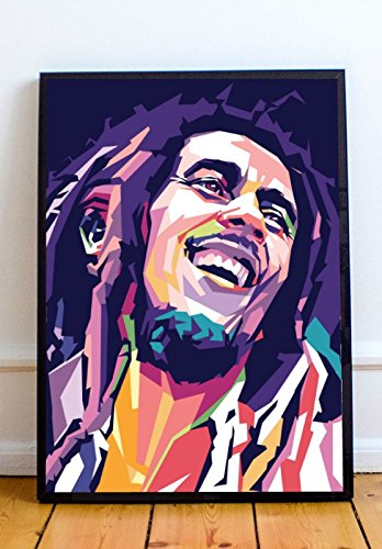 AAP Bob Marley Limited Poster Artwork - Professional Wall Art Merchandise (More Sizes Available) (16x20)