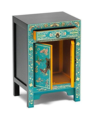 Asia Dragon Meuble de Rangement de Style Chinois -Laque Turquoise avec des  Papillons d or - Meubles Chinois de Style Traditionnel  Amazon.fr  Cuisine    ... 52b399fa8b90