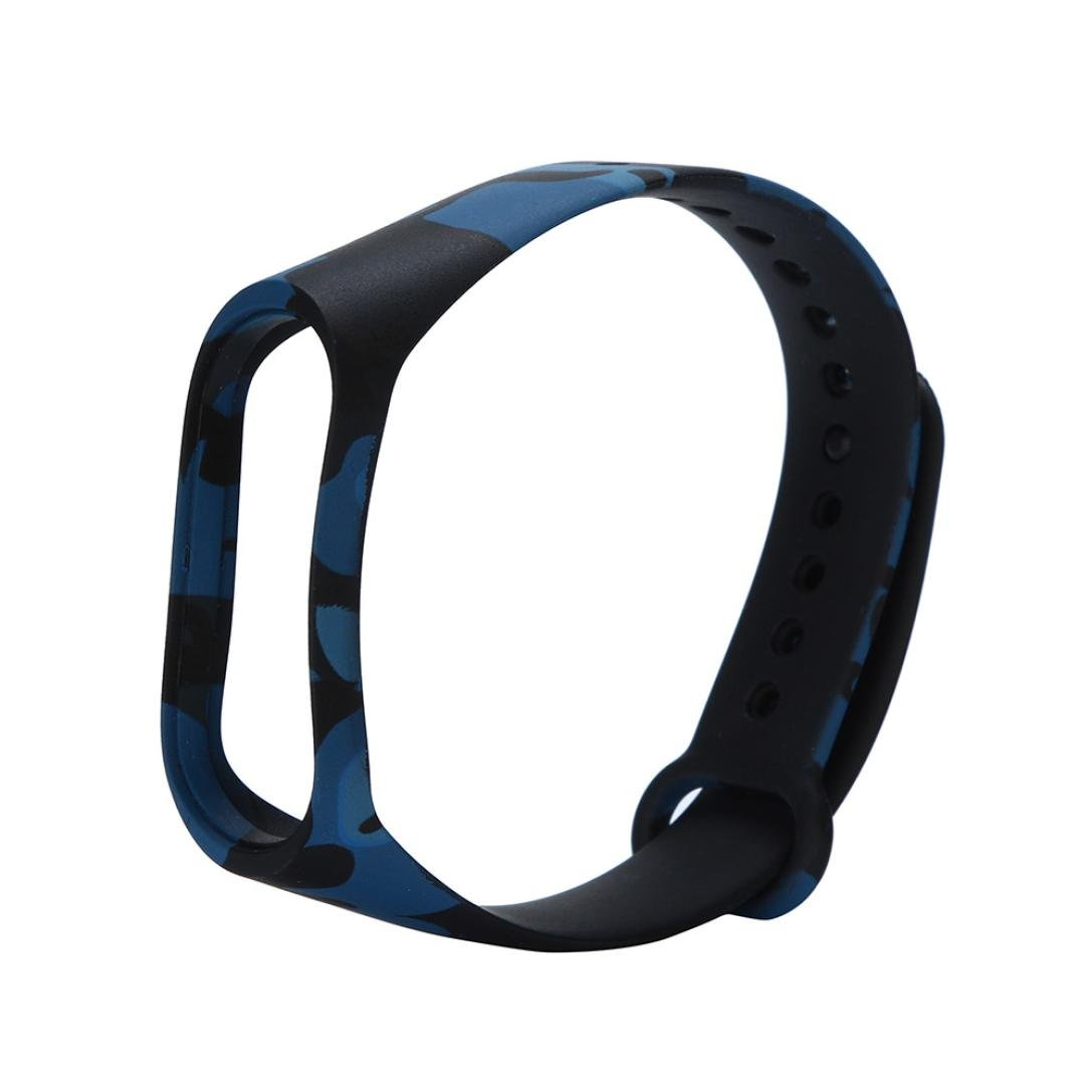 HighlifeS Watch Band, Replacement Silicone Wristband Band Strap For MIUI Band 3 Bracelet (A)