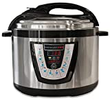10 quart crock pot slow cooker - 10-in-1 PressurePro 10 Qt Pressure Cooker - Multi-Use Programmable Pressure Cooker, Slow Cooker, Rice Cooker, Steamer, Sauté and Warmer - Black