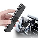 Magnetic Phone Car Mount for Cell Phone Holder for Car Universal Air Vent Car Phone Mount for iPhone X 8 Plus 7 Plus SE 6s Plus 5s 5 4s 4 Samsung Galaxy S9+ S8 Note8 S7 Edge S6 Edge S5 S4 Google LG