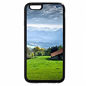 iPhone 6S / iPhone 6 Case (Black) LITTLE HOUSE ON THE PRAIRIE