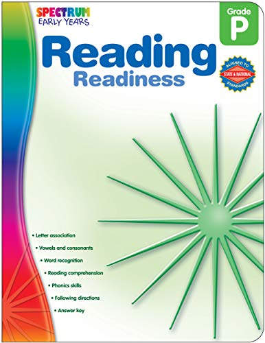 Reading Readiness, Grade PK (Early Years)