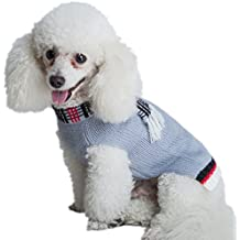 Small Dog Sweater Cute Puppy Clothes Gray by KOOLTAIL