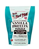 Bob's Red Mill Vanilla Protein Powder Nutritional Booster, 16 Ounce (Package May Vary)