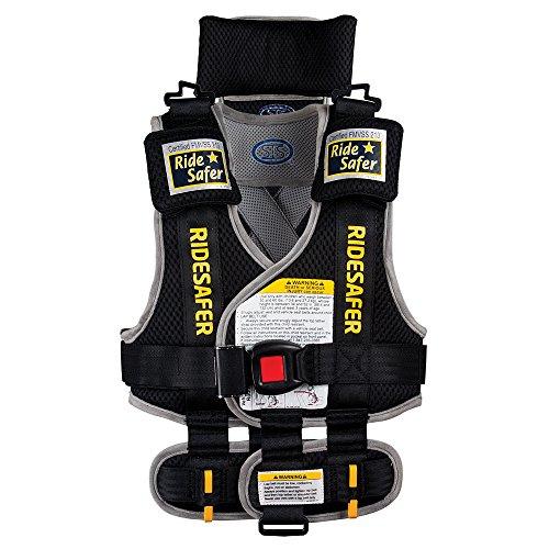 RideSafer-Type-2-GEN3-Travel-Vest-BlackGrey-Large
