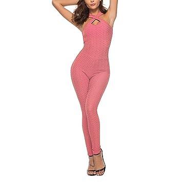 ZCJB Pantalones Yoga Mujer Mujeres Verano Conjunto Deportivo ...