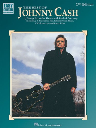 The Best of Johnny Cash (Easy Guitar with Notes and (Cash Sheet Music)