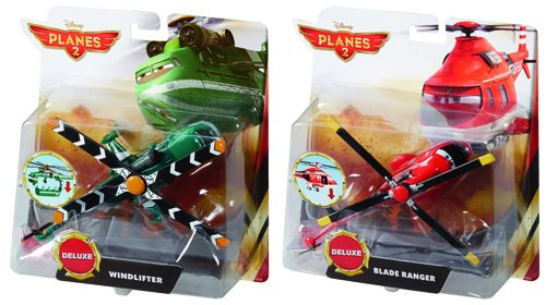 MATTEL DISNEY PLANES FIRE & RESCUE CASE A DELUXE ASSORTME...