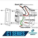 (Pack of 4) Ivory Motion Sensor Light Switch