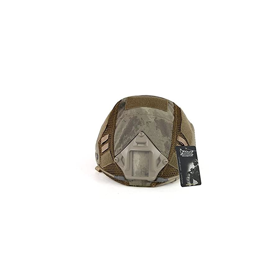 WoSporT Military Style Tactical Helmet Accessories Camouflage Helmet Cover for MH/PJ type Fast Helmet (10 Colors, Accessories of Fast Helmet)