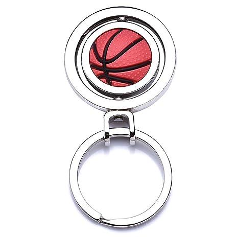 HYhy - Llavero de Baloncesto con Forma de balón de Baloncesto ...