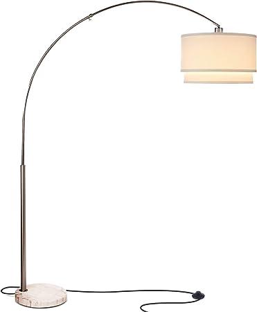 Amazon.com: Brightech Mason - Lámpara de pie para sala con ...