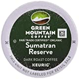 : Green Mountain Coffee Fair Trade Organic Sumatran Reserve, K-Cup Portion Pack for Keurig Brewers 24-Count