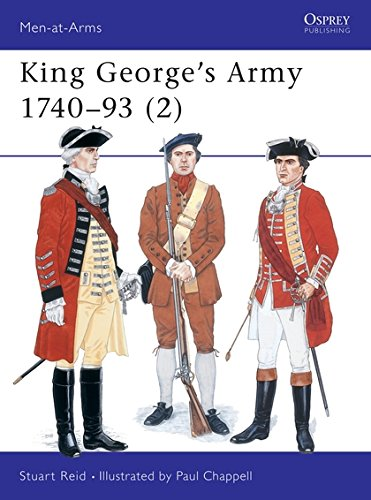 - King George's Army 1740–93 (2) (Men-at-Arms)