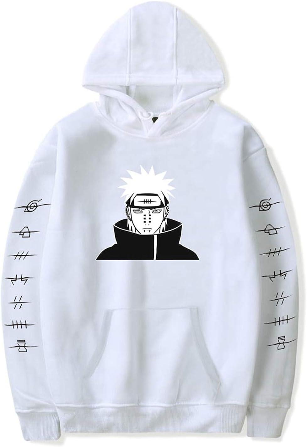 Japanese Anime Naruto Sweats /à Capuche Itachi Akatsuki Coton Pullover Streetswear Sweatshirts Cosplay