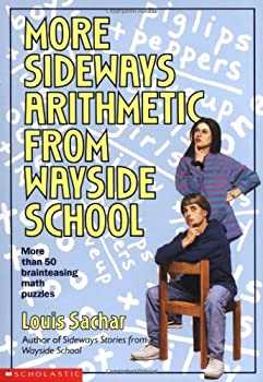 More Sideways Arithmetic from Wayside School 0590477625 Book Cover