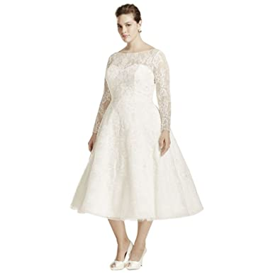 Plus Size Tea Length Wedding Dresses – Fashion dresses