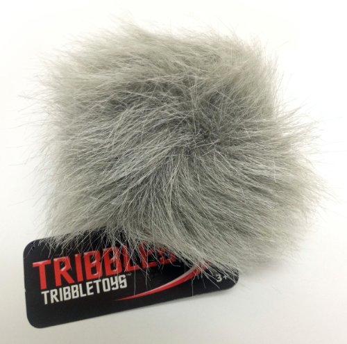 - STAR TREK PLUSH TRIBBLE - Gray Tundra Tribble - Small Size
