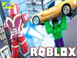 Clip: Iron Man Vs The Hulk in Roblox