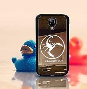 Hard Plastic Protective Cover For Galaxy S4 Mini Scorpions Logo Personalized Popular Style Scratch-Proof Tough & Dust-proof Cell Phone Cover Compatible With Samsung Galaxy S4 Mini