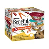 Purina Beneful Prepared Meals Dog Food Variety Pack, 60-Ounce, My Pet Supplies