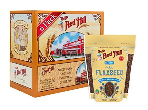 Bob's Red Mill Raw Whole Brown Flaxseed, 13-ounce (Pack of 6) (Rare Life)