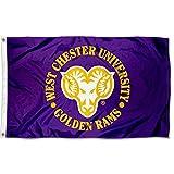 West Chester University Golden Rams 3x5 Flag