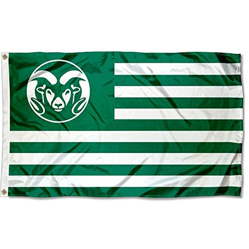 CSU Rams Stars and Stripes Nation College Flag by College Flags and Banners Co.