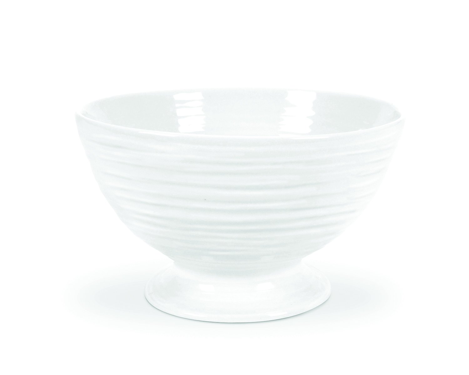 Portmeirion Sophie Conran White Footed Bowl Portmeirion USA 446175