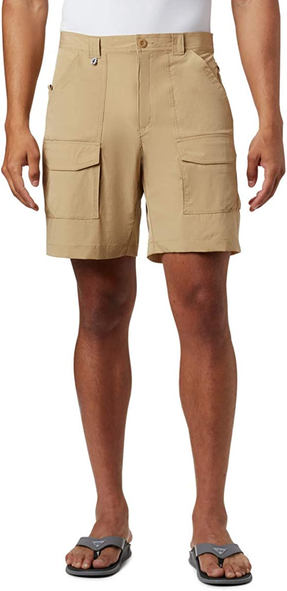 Columbia Men's Permit III Shorts, Sun Protection, Medium x 8, Beach