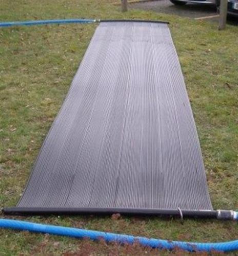Solarmatte 6,00m x 1,20m Fläche 7,2m² Poolheizung Solarheizung Solarabsorber
