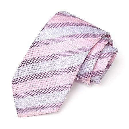 LBBJJ Corbata de Moda clásica Classic Plaid Arrow Tie Hombres ...