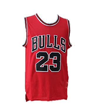 SWW Michael Jordan niño NBA Masculino Michael Jordan # 23 Top de Deportes de Chicago Bulls Baloncesto Jersey Retro Gimnasio