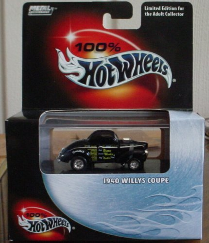 100 Coupe - Hot Wheels 100% 1940 Willys Coupe #14 2003 by Mattel