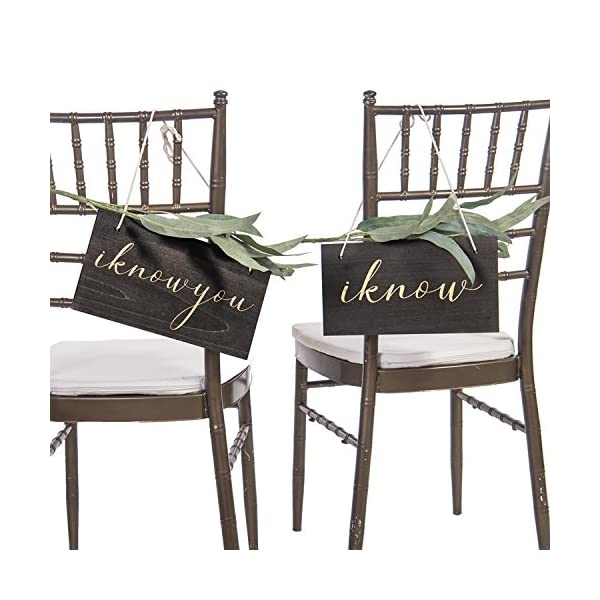 Lings-moment-Rustic-Vintage-Wedding-Chair-Signs-Funny-Bride-and-Groom-Chair-Decor-I-Know-You-I-Know-for-Wedding-Decor-Chair-Back-Hanging-Wall-Decor-Signs-Unique-Photo-Props