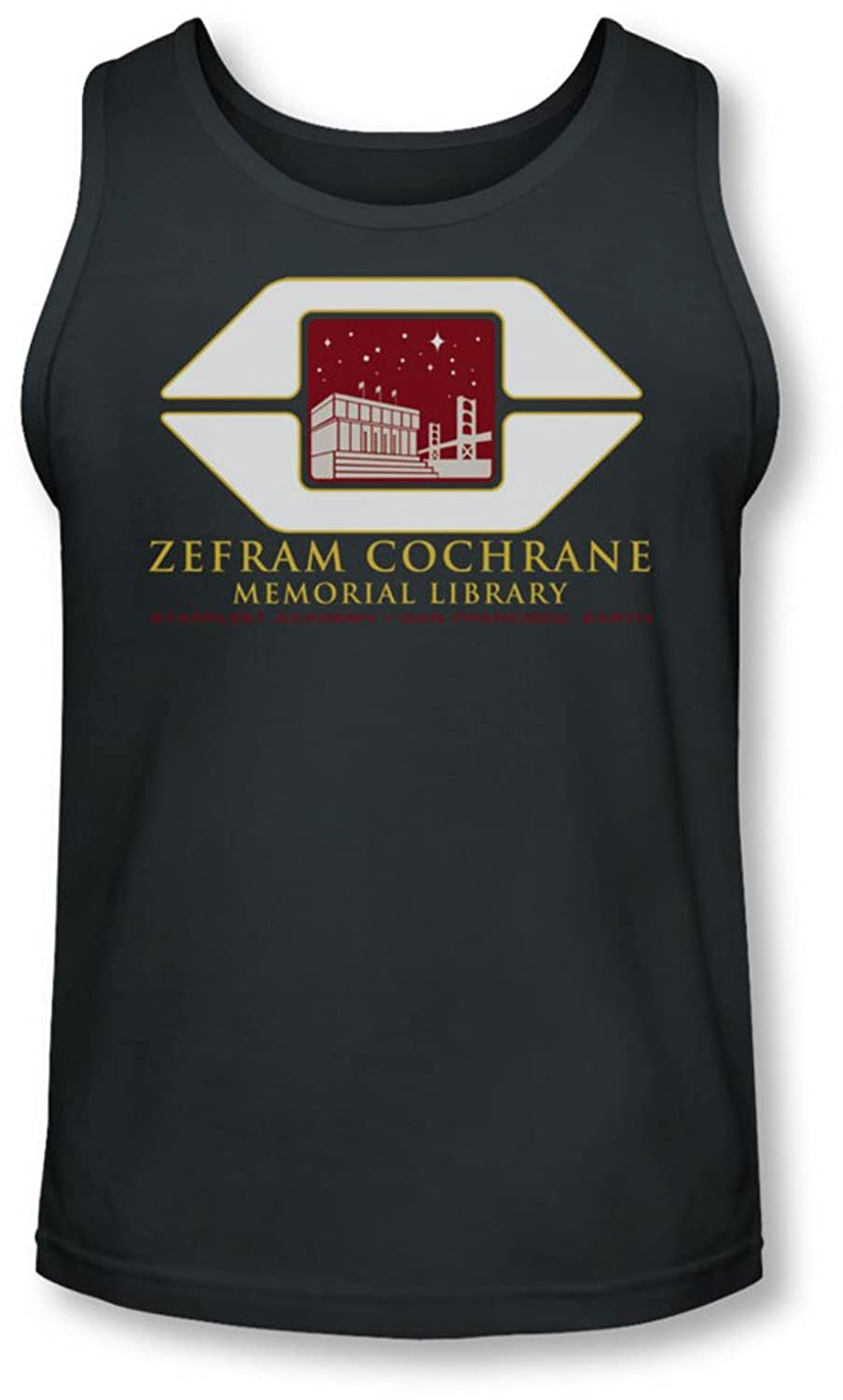 Star Trek - Mens Cochrane Library Tank-Top